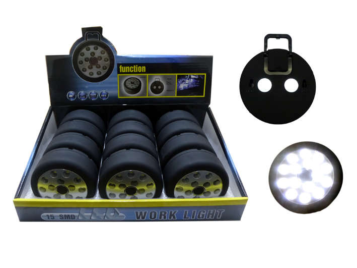 Work lamp 30115 15<br> SMD LEDs in the<br>display