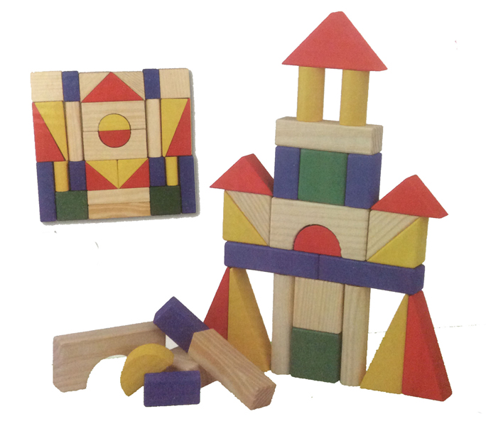 Wooden Toy Building Blocks 31 PCS