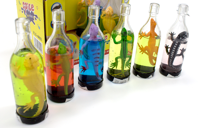 Slime Lizard in Bottle 12er Display
