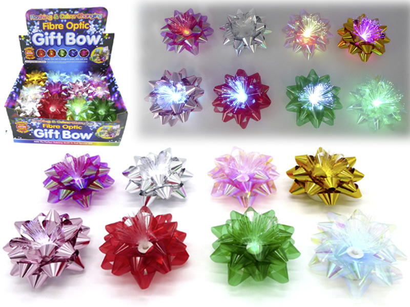 LED Flashing Flowers Gift Decoration 24 PCS in Display