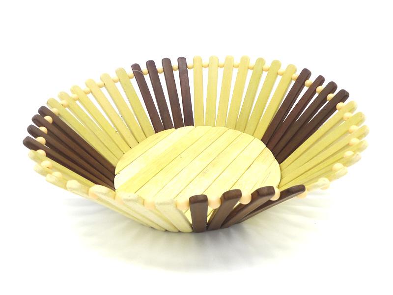 Brotkorb Obstkorb Bambuskorb Rund O27 10cm 33284 C T Handels