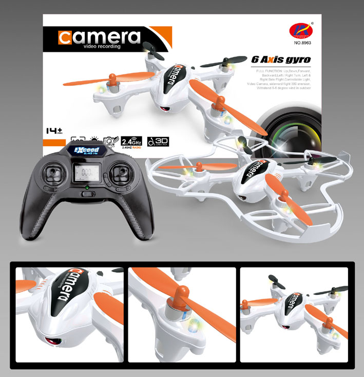 Quadcopter 2,4GHz with Cam