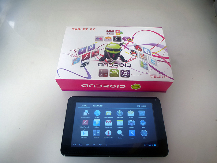 Android Tablet 4G PC 7 Zoll CT-1000