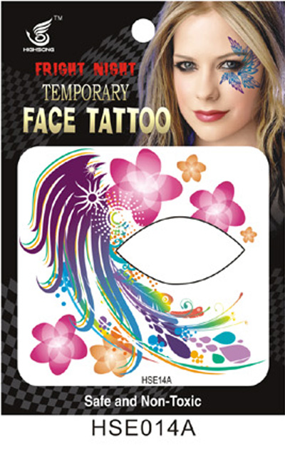Eye Shadow Einmal-Tattoo