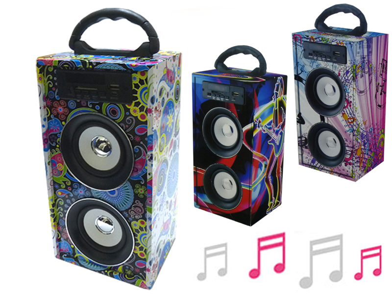 Portable Wooden<br> Speaker, By<br>Colour; 27 * 1