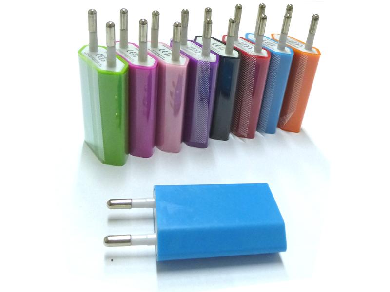 USB Ladegerät,<br>farbesortiert