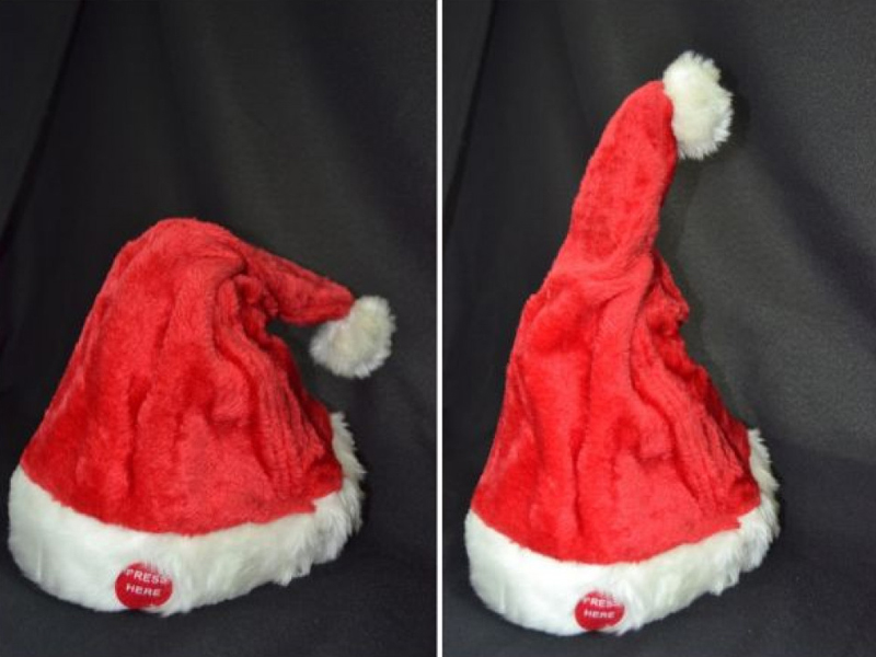 Funny Singing and Dancing Christmas Hat